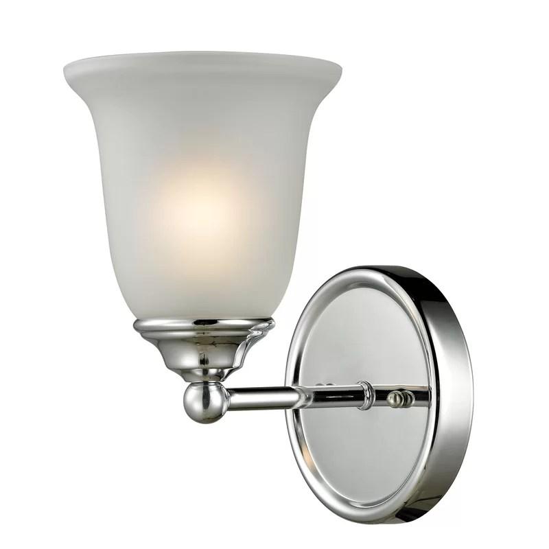 Charlton Home Kellie 1-Light Bath Sconce   Wayfair on Wayfair Bathroom Sconces id=33349