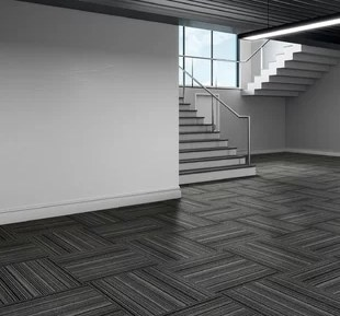 Carpet Tiles For Stairs Wayfair   Carpet And Tile Stairs   Gray   Backsplash   Carpeted   Tiled Hallway Carpet   Before And After