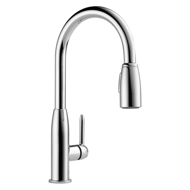 apex pull down single handle kitchen faucet
