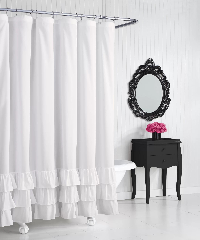 Betsey Johnson Solid Shower Curtain Reviews Wayfair