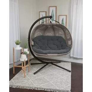 furkan swing chair with stand