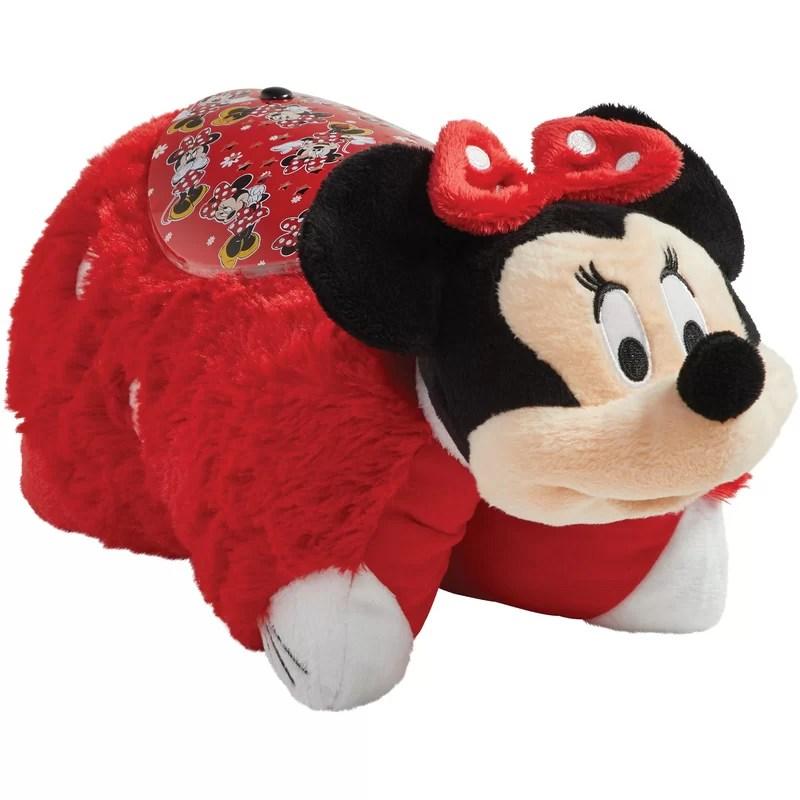 sleeptime lite disney rockin the dots minnie mouse plush night light