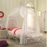 girls full canopy bed wayfair