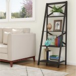 Lavish Home 4 Shelf Ladder Bookcase Reviews Wayfair