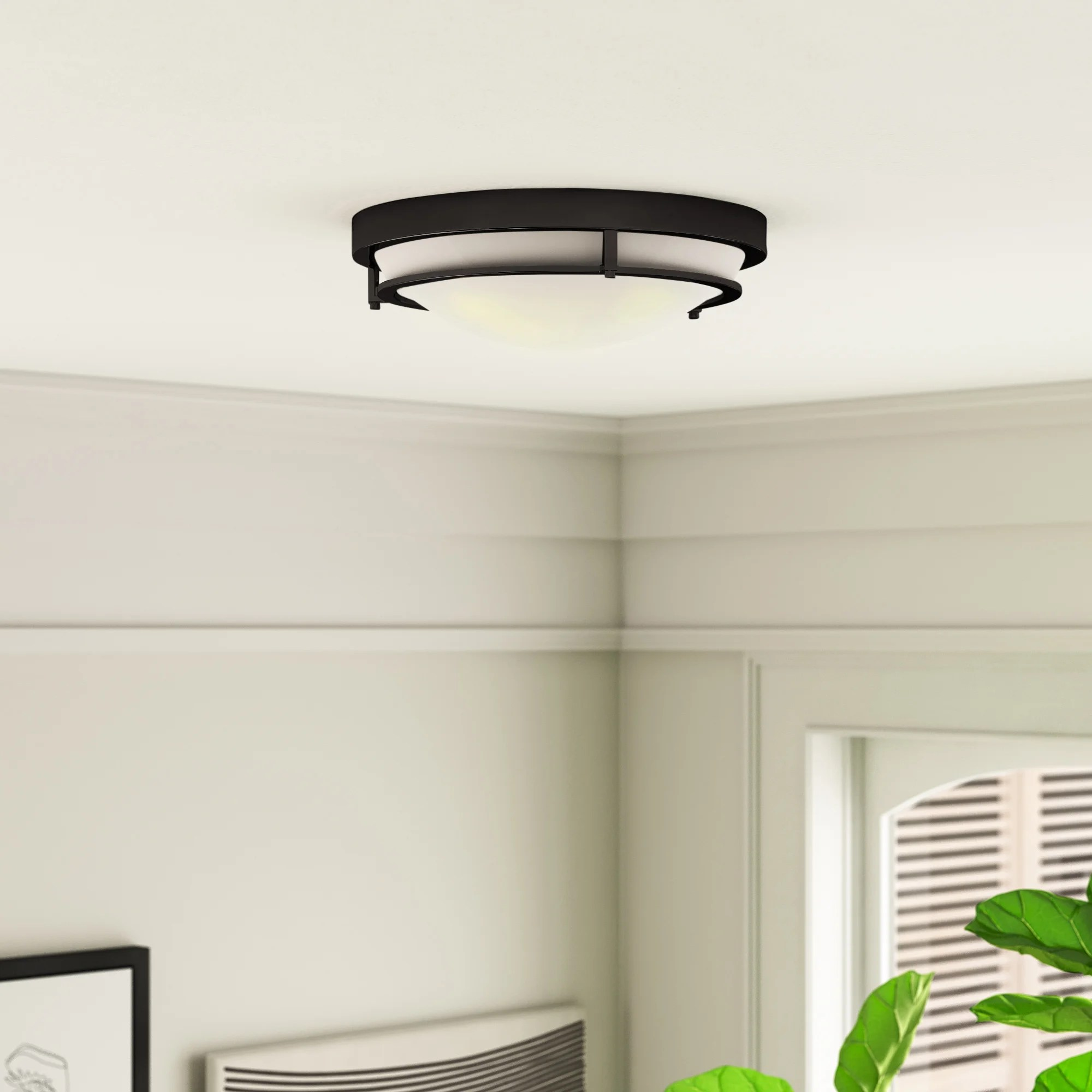contemporary flush mount lighting