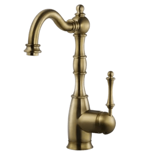 antique brass kitchen faucets free