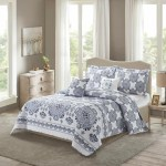 House Of Hampton Vanesa Medallion Reversible Quilted Bedspread Set Reviews Wayfair