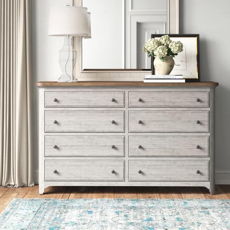 ayden 8 drawer double dresser