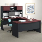 Upper Square Hythe Reversible U Shape Executive Desk With Hutch Reviews