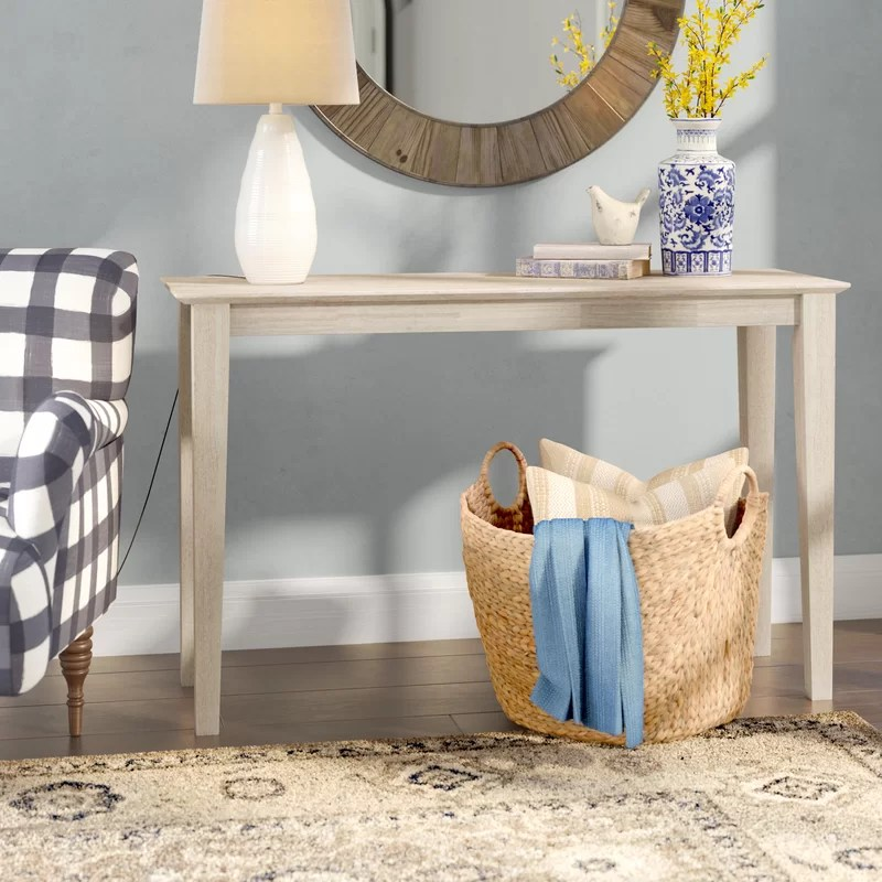 Kaiser Solid Wood Console Table