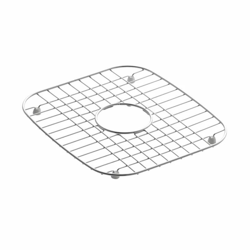 undertoneverse stainless steel sink rack 12 1 4 x 13 3 4 for undertone and verse kitchen sinks