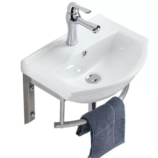 space saving wall sink