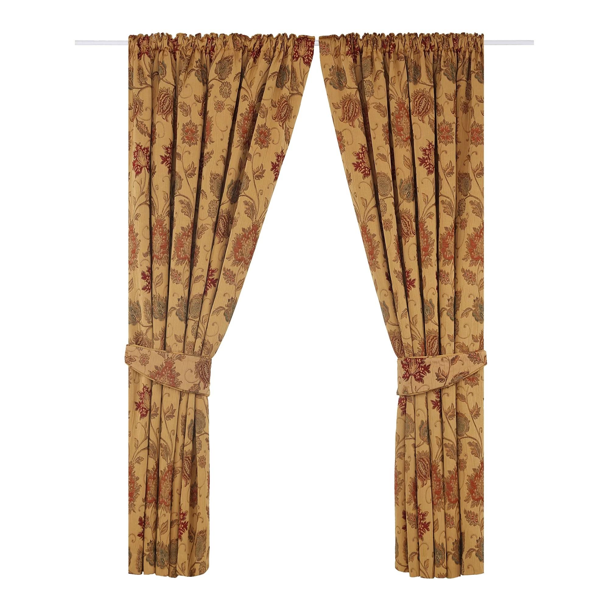 barnsley pencil pleat room darkening curtains