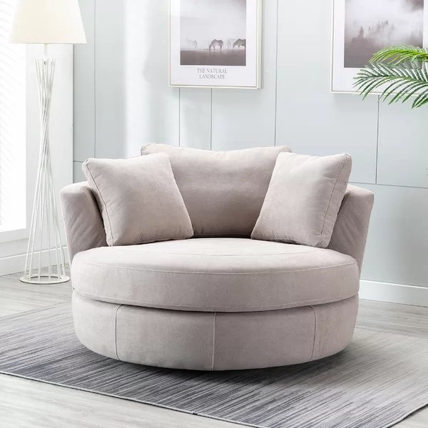 Modern Big Round Sofa Chair From Aed 1, Large Round Sofa Chair
