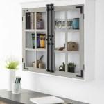 Rosalind Wheeler Muth 30 W X 27 5 H X 6 5 D Wall Mounted Bathroom Cabinet Wayfair Ca
