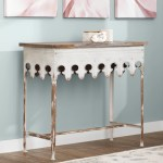 Ophelia Co Knowle 36 Solid Wood Console Table Reviews Wayfair