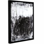 Wade Logan Black And White I Framed Graphic Art Print On Canvas