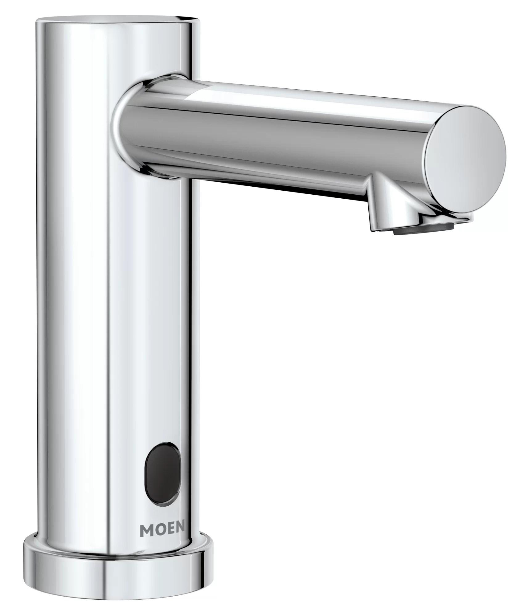 commercial m power single hole bathroom faucet
