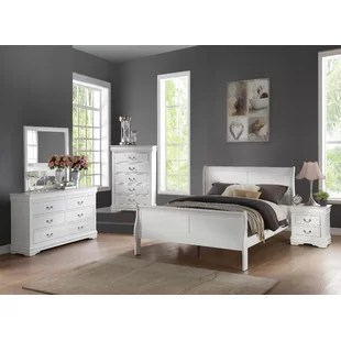 elim sleigh 2 piece bedroom set