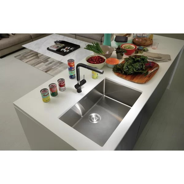 cube 29 l x 18 w undermount kitchen sink