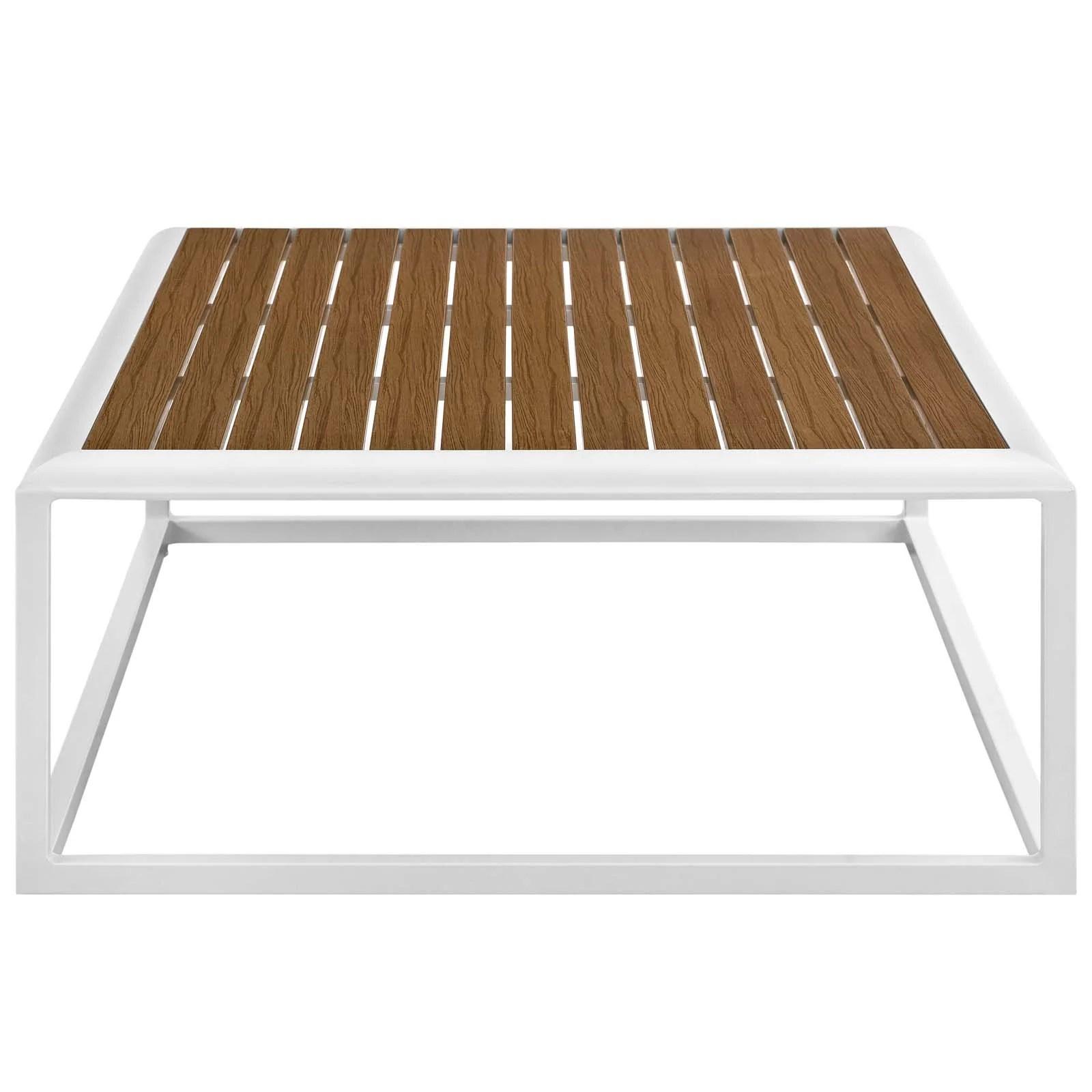 modern metal outdoor coffee tables