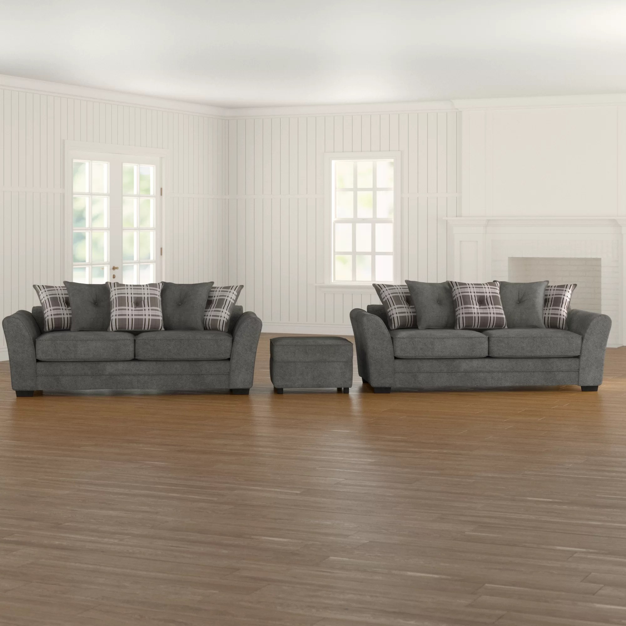 brynlee 3 piece sofa set