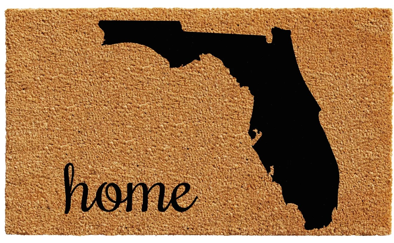 Florida Door Mat