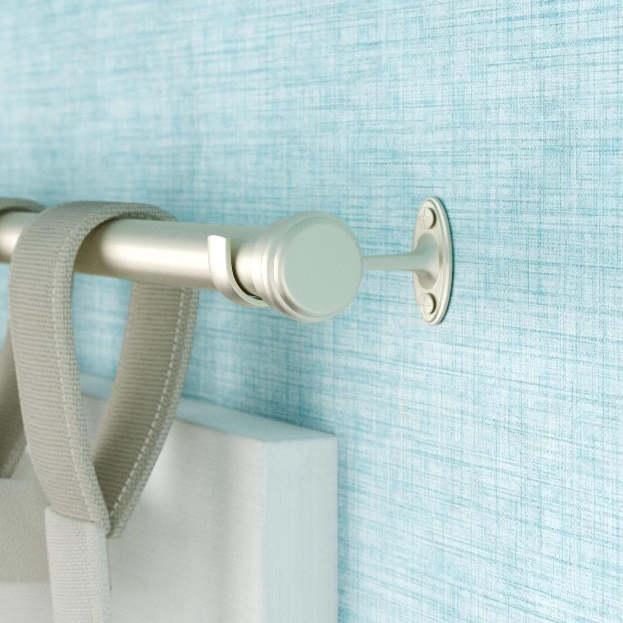 3 inch rod curtain hardware