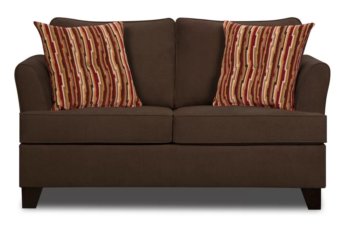 Best Kitchen Gallery: Red Barrel Studio Simmons Upholstery Antin Loveseat Sleeper Sofa of Loveseat Bed  on rachelxblog.com