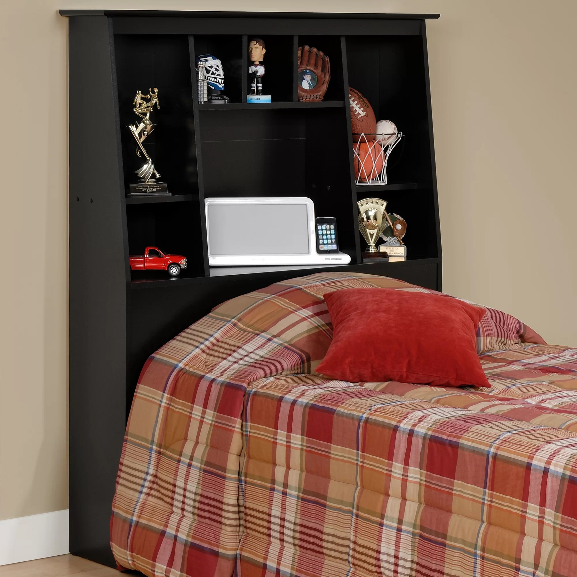 prepac storage twin bookcase headboard reviews wayfair