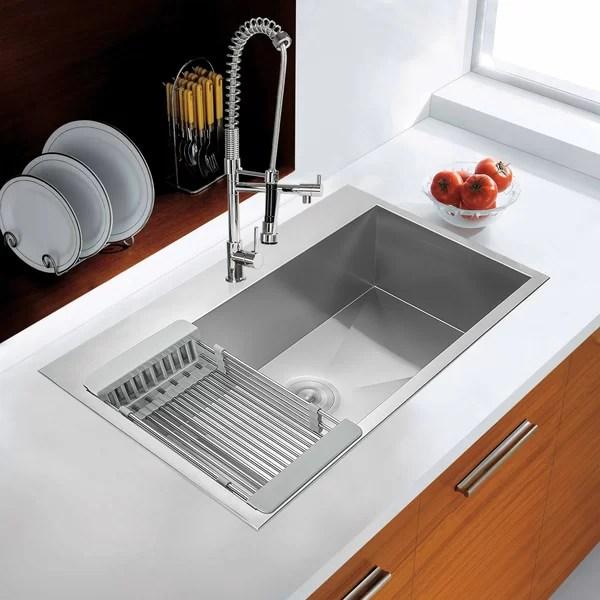 glacier bay kitchen sink