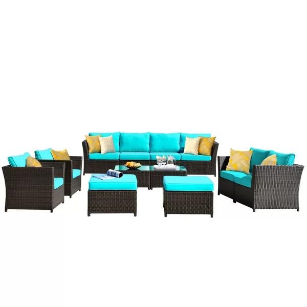 navy blue patio furniture