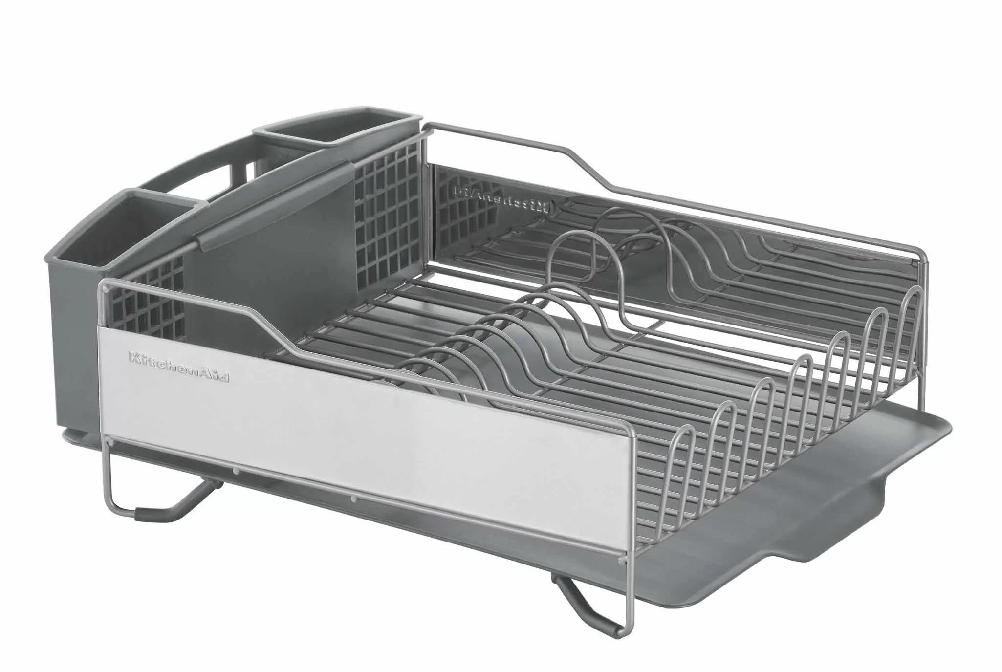 stainless steel countertop dish rack