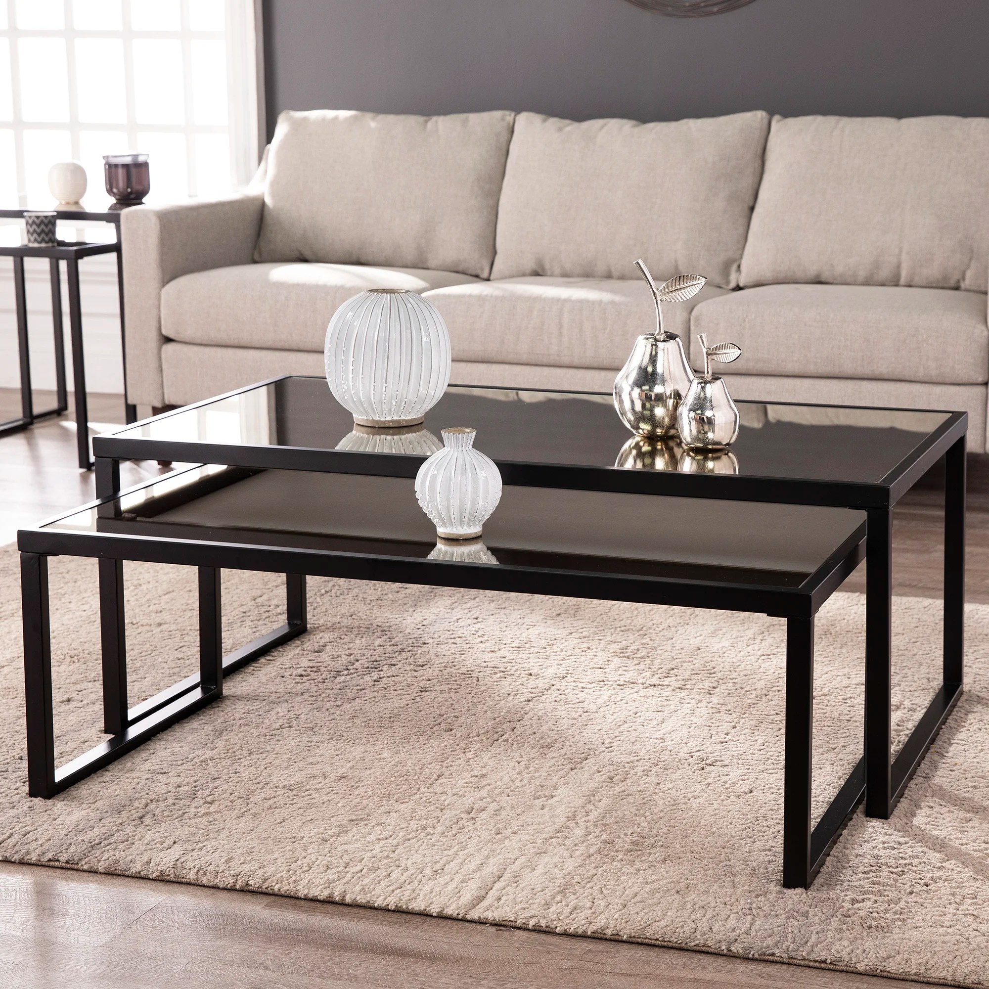 brass nesting coffee tables you ll love