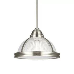 rustic brushed nickel pendant lighting