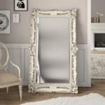 One Allium Way Antique Full Length Mirror Reviews Wayfair