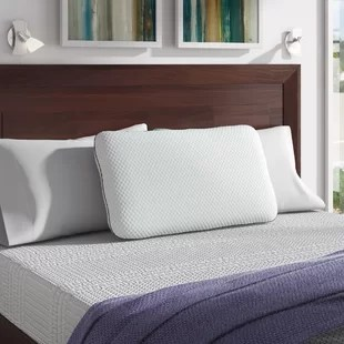 wayfair sleep medium memory foam cooling bed pillow