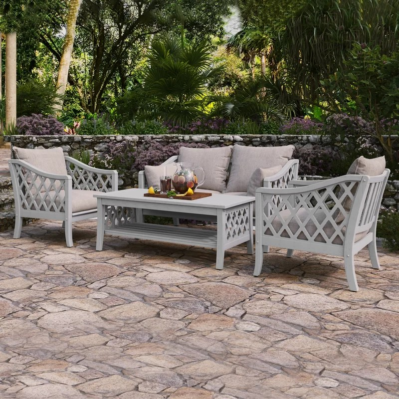 seal harbor 4 piece sofa seating group with cushions