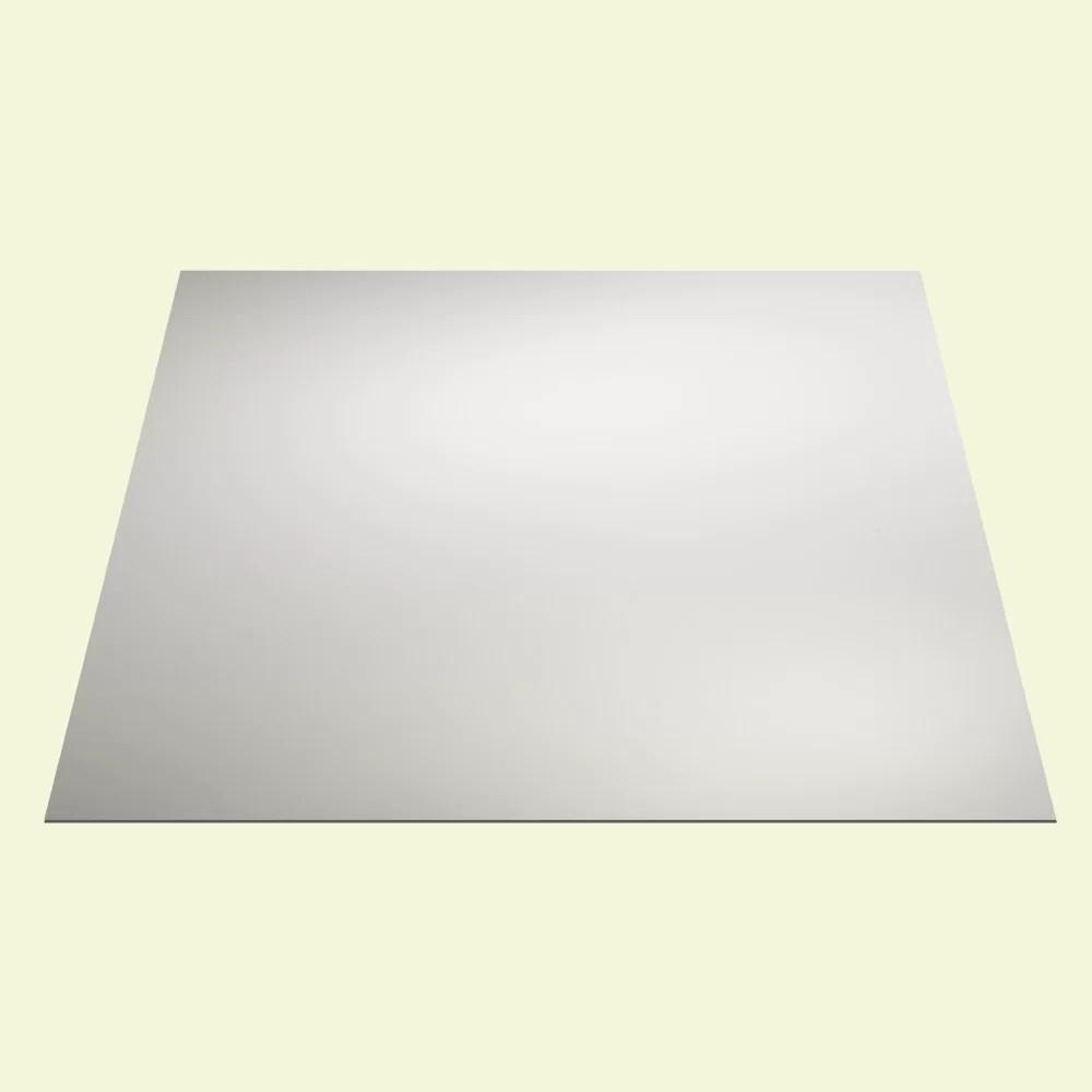 genesis waterproof designer series 2 ft x 2 ft drop in vinyl ceiling tile in white reviews wayfair