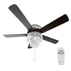 Flush Mount Ceiling Fans You ll Love   Wayfair Save