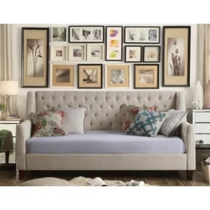 Daybeds   Guest Beds   Birch Lane Pennington Twin Size Tufted Daybed
