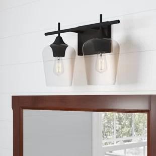 keener 2 light dimmable vanity light