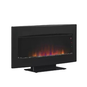 Amish Fireplace Heater   Wayfair Wall Hanging Serendipity Fire Display with Heater