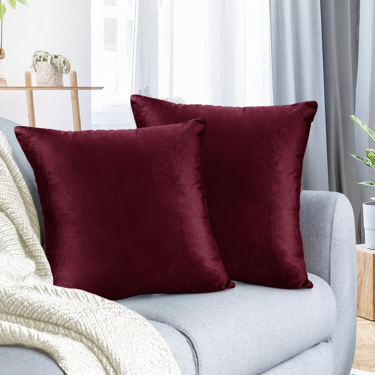 pillow cover red throw pillows you ll