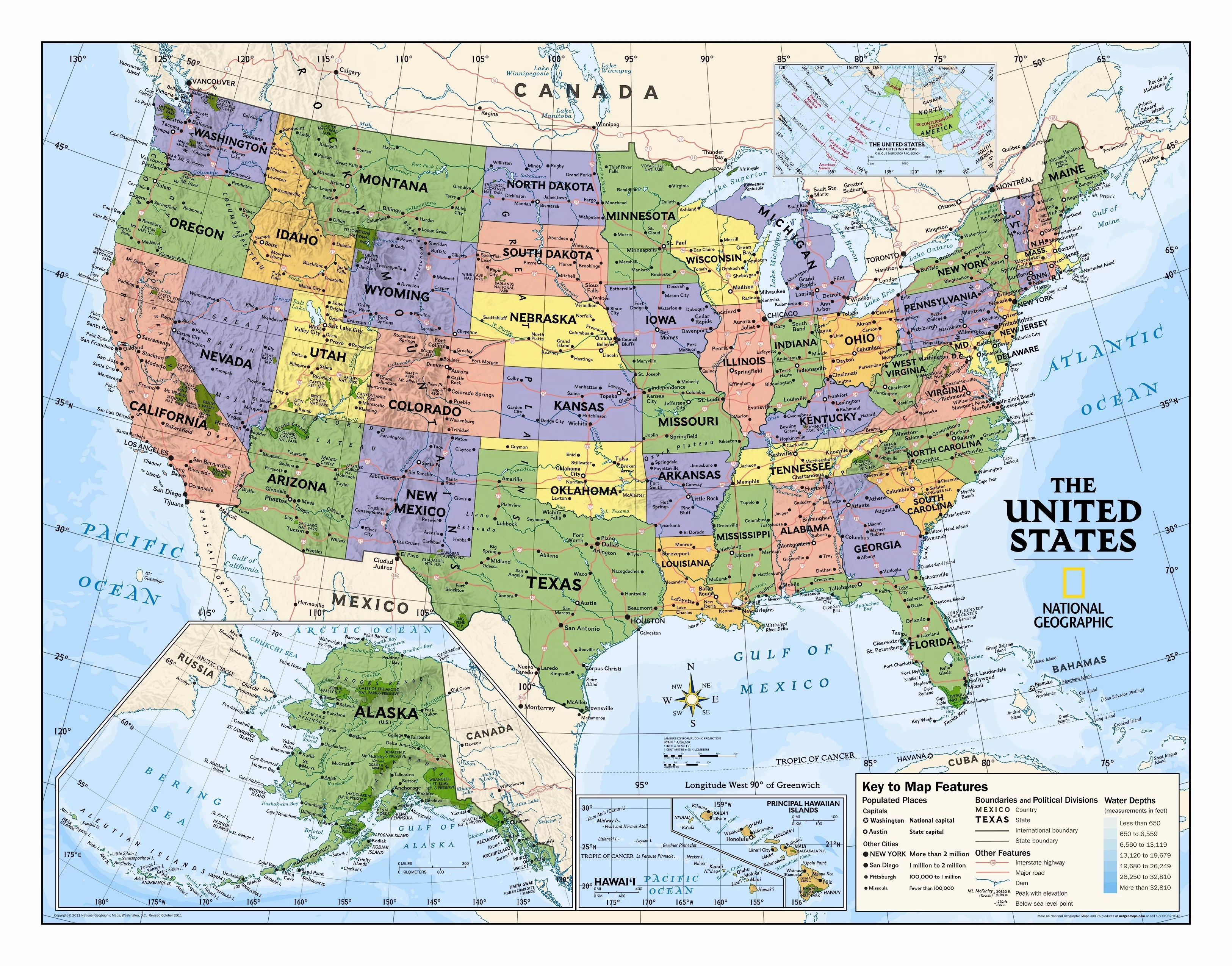 Detailed Map Geography Map Scale For Kids