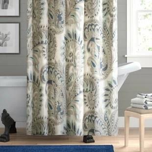 boatright cotton single shower curtain