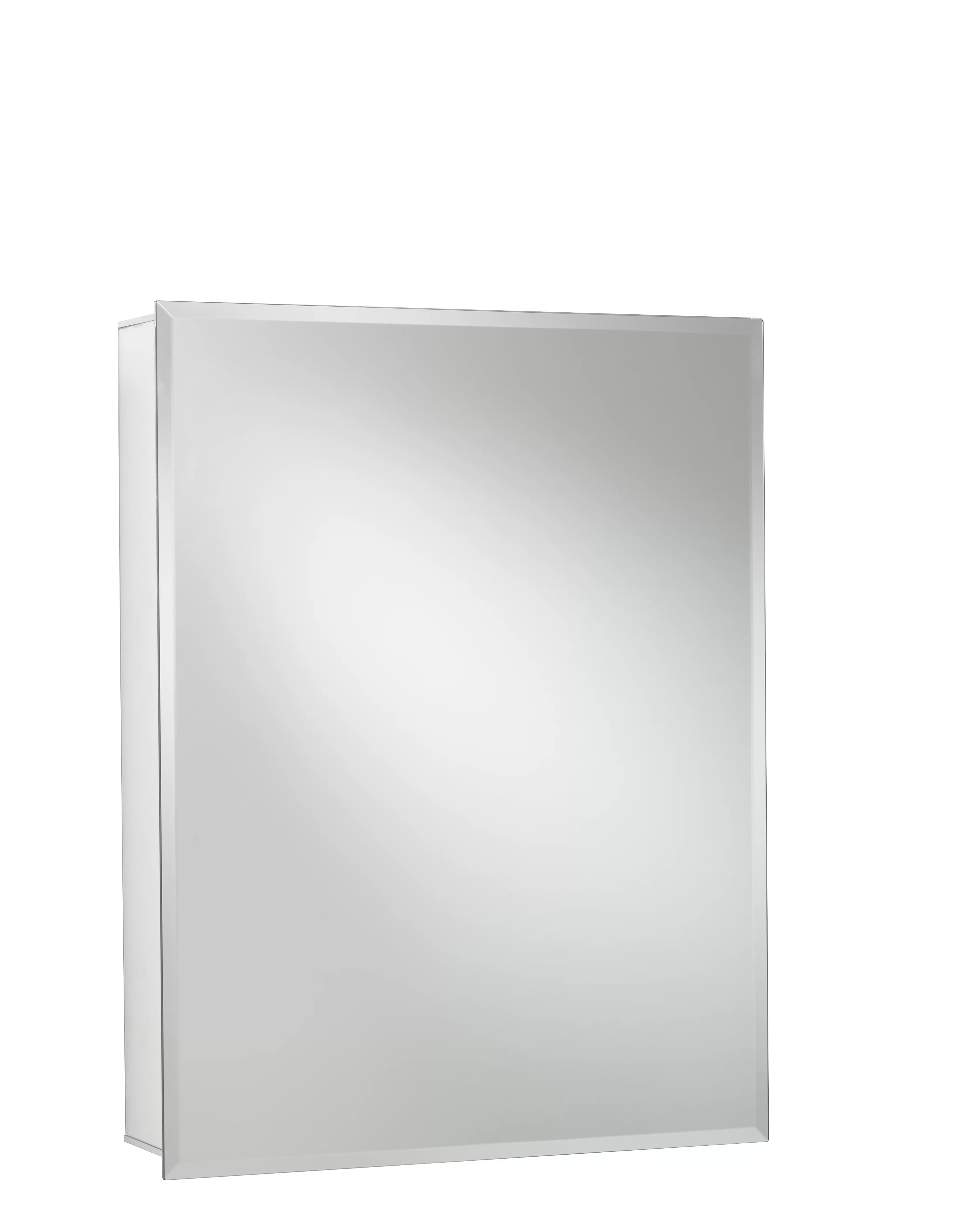 Jacuzzi 24 X 30 Recessed Or Surface Mount Frameless Medicine Cabinet With 2 Adjustable Shelves Reviews Wayfair