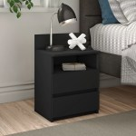 Zipcode Design Abril 2 Drawer Bedside Table Reviews