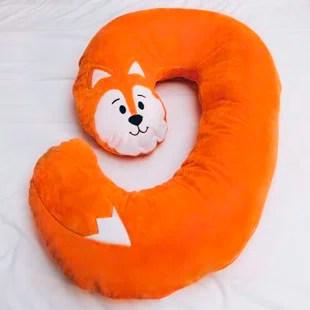 snoogle jr child size body pillow