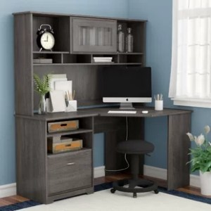 Hutch Desks You ll Love   Wayfair Hillsdale Computer Desk with Hutch